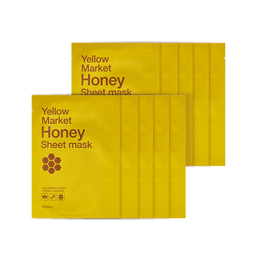 A'PIEU Yellow Market Honey Sheet Mask