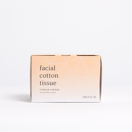 ARITAUM Facial Cotton Tissue