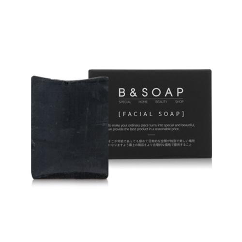 B & SOAP Facial Soap Black Block