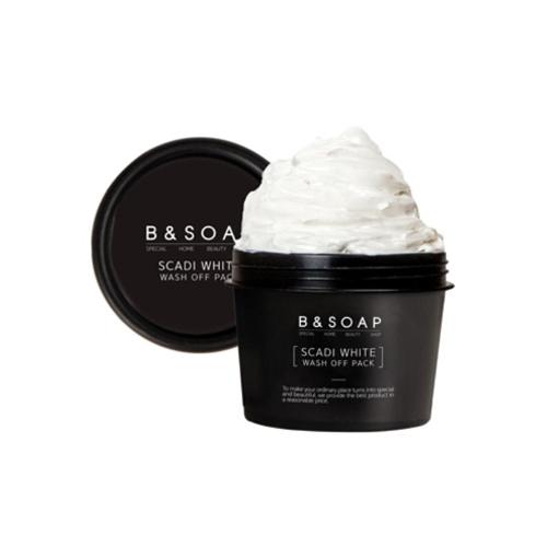 B & SOAP Scadi White Wash Off Pack