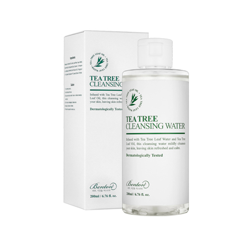 >Benton Tea Tree Cleansing Water