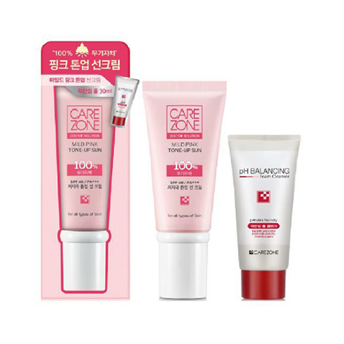 CAREZONE Doctor Solution Mild Pink Tone-Up Sun