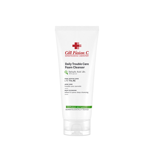 Cell Fusion C Tre.AC Daily Trouble Care Foam Cleanser