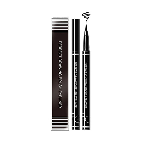 EGLIPS Perfect Drawing Brush Eyeliner 0.5g