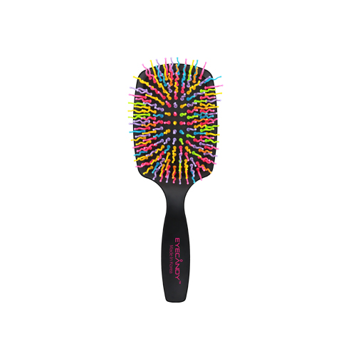 EYECANDY Rainbow Volume S Paddle Brush Black