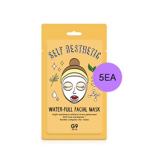 G9SKIN Self Aesthetic Water-Full Facial Mask