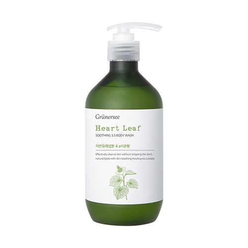 Grunersee Heart Leaf Soothing 5.5 Body Wash