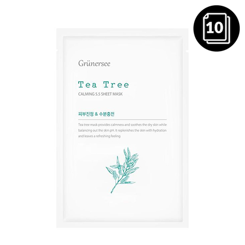 Grunersee_Tea_Tree_Calming_55_Sheet_Mask_25g