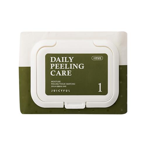 JUICYFUL Daily Moisture Matcha Peeling Tissue