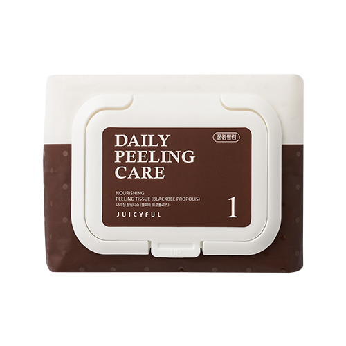 JUICYFUL Daily Nourishing Black Bee Propolis Peeling Tissue