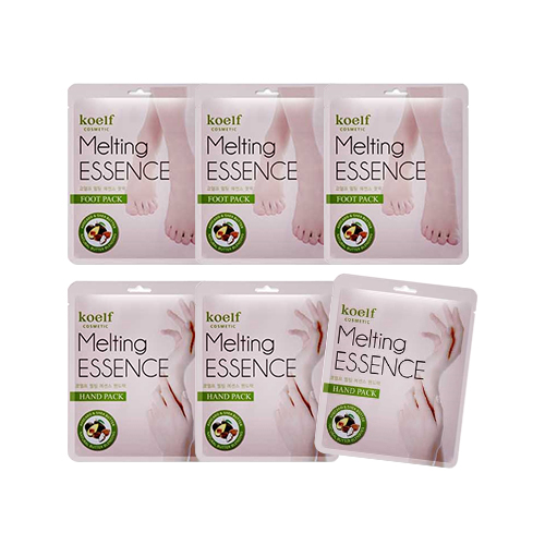 Koelf Melting Essence Hand Mask & Foot Mask