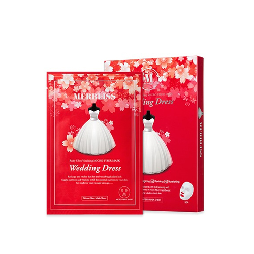 MERBLISS Wedding Dress Ruby Ultra Vitalizing Micro-Fiber Mask