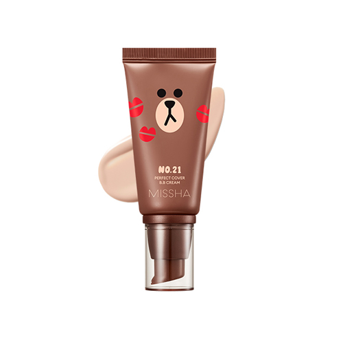 Missha Line Friends Edition Perfect Cover BB Cream 50ml SPF42 PA+++