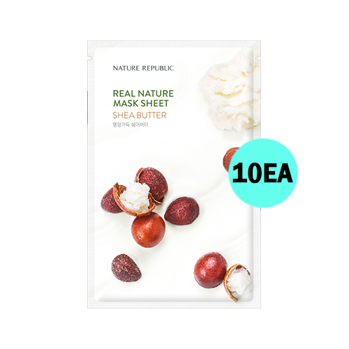 NATURE REPUBLIC Real Nature Mask Sheet Shea Butter