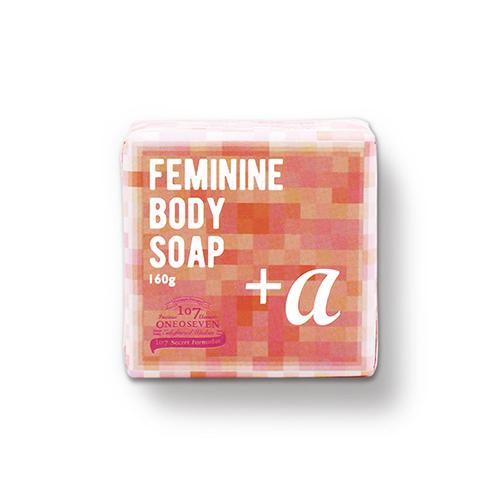 ONEOSEVEN Feminine Body Soap + ALPHA