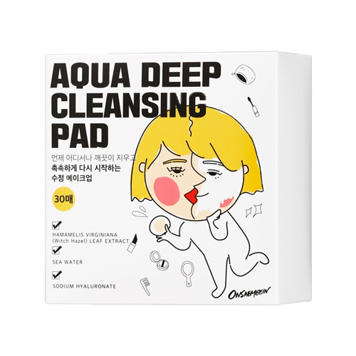 ONSAEMEEIN Aqua Deep Cleansing Pad