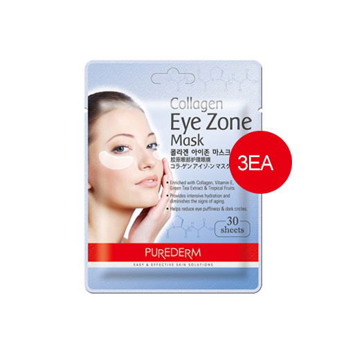 PUREDERM Collagen Eye Zone Mask 30sheets