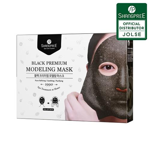 SHANGPREE Black Premium Modeling Mask 5ea