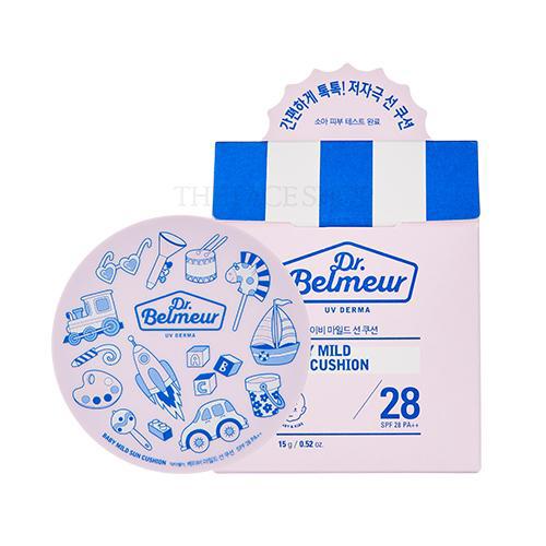 THE FACE SHOP Dr.Belmeur UV Derma Baby Mild Sun Cushion