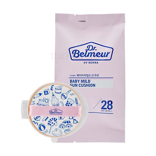 THE FACE SHOP Dr.Belmeur UV Derma Baby Mild Sun Cushion Refill