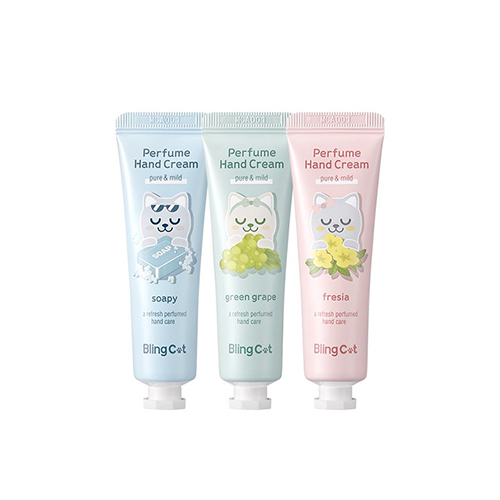 TONYMOLY Bling Cat Perfume Hand Cream