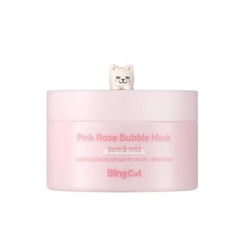 TONYMOLY Bling Cat Pink Rose Bubble Mask