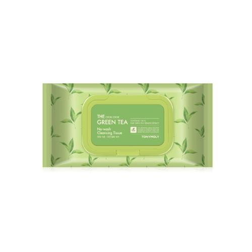 TONYMOLY The Chok Chok Green Tea No Wash Cleansing Tissue