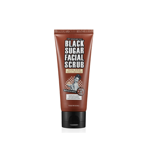 TOSOWOONG Black Sugar Facial Scrub