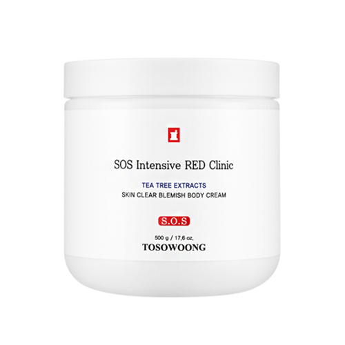 TOSOWOONG SOS Intensive Red Clinic Skin Clear Blemish Body Cream