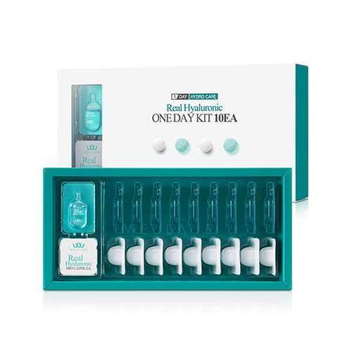 WELLAGE Real Hyaluronic One Day Kit