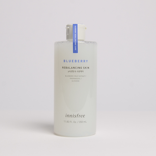 innisfree Blueberry Rebalancing Skin pH balancing & Moisturizing