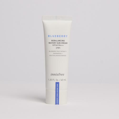 innisfree Blueberry Rebalancing Watery Sun Cream
