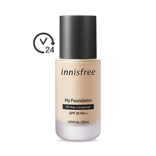 innisfree My Foundation All Day-Longwear