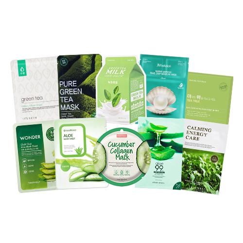 Mask Sheet Trial Kit (Greeny)