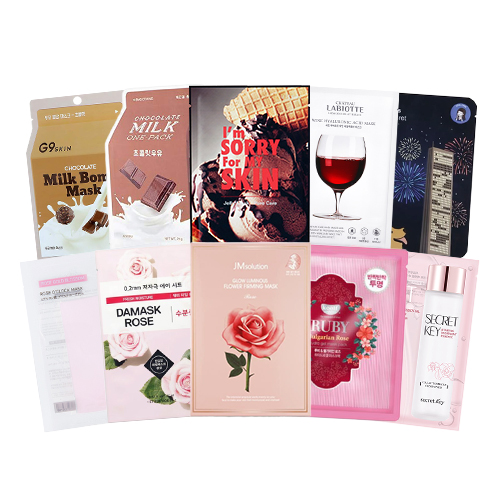 Mask Sheet Trial Kit (Valentine Day)