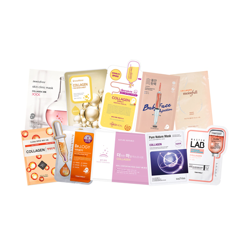 Mask Sheet Trial Kit (Collagen)