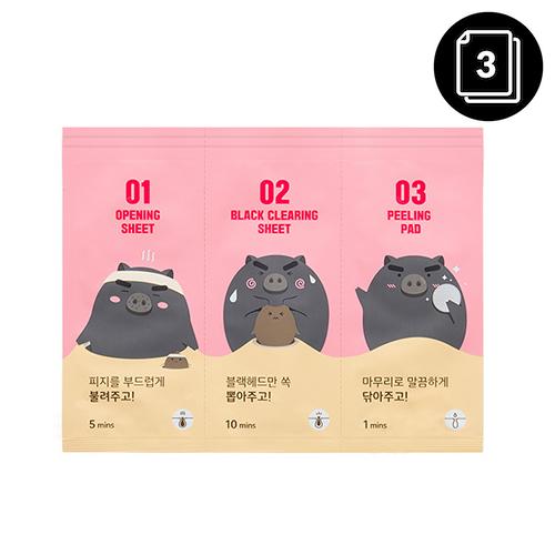 mefactory 3 Step Black Pig Nose Pack
