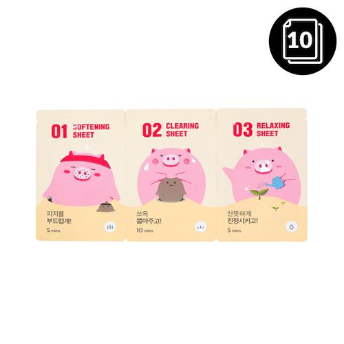 mefactory 3 Step Piggy Nose Strip