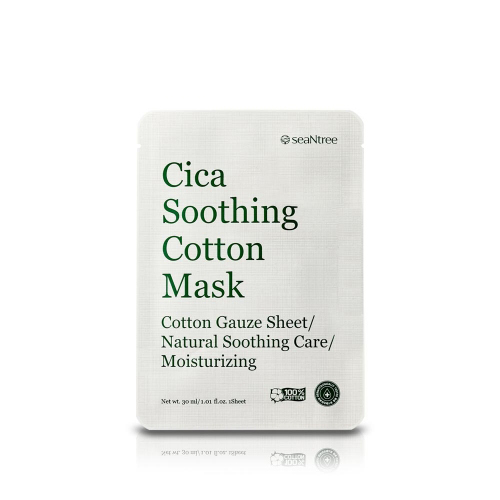 seaNtree Cica Soothing Cotton Mask