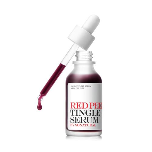 so natural Red Peel Tingle Serum