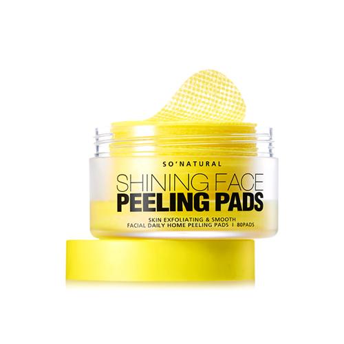 so natural Shining Face Peeling Pads