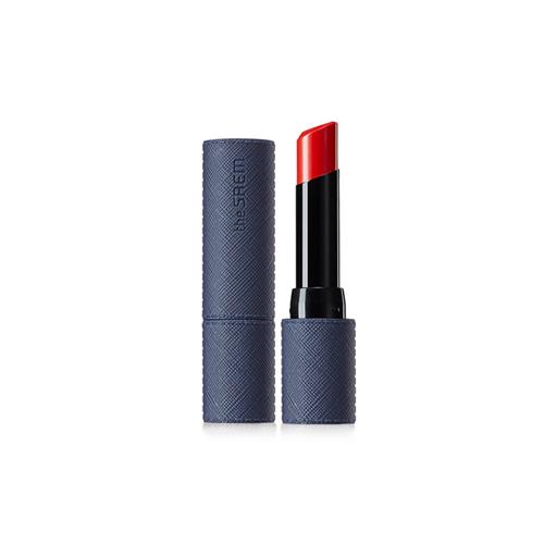 the SAEM Kissholic Lipstick Leather Glow