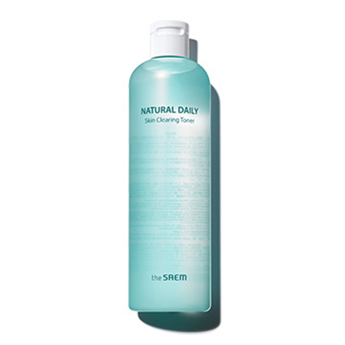 the SAEM Natural Daily Skin Clearing Toner
