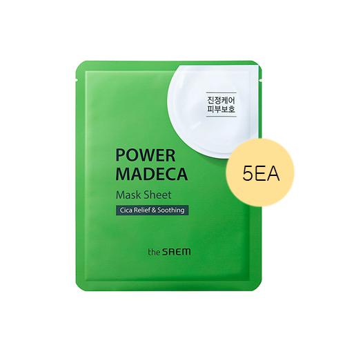 the SAEM Power Madeca Mask Sheet
