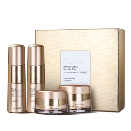 the_saem_Snail_Essential_EX_Wrinkle_Solution_Skin_Care_3_Set